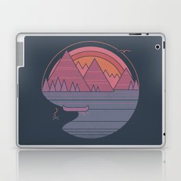 The Mountains are Calling Laptop & iPad Skin