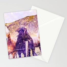 Southwest Horse Ranch Horses Stationery Cards