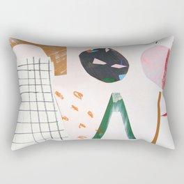 cut out play Rectangular Pillow