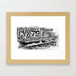CVN-75 Harry S. Truman Framed Art Print