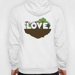 Love for Nature in Negative Space Hoody