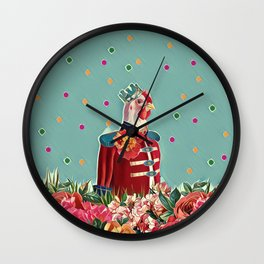 You are my king Wall Clock