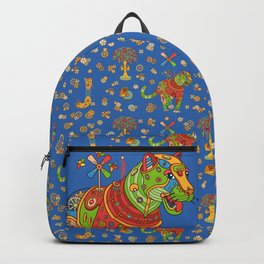 Jaguar, cool wall art for kids and adults alike Backpack