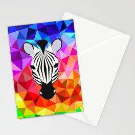 Zebra Dazzle Stationery Cards