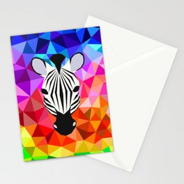 Zebra Dazzle Stationery Cards