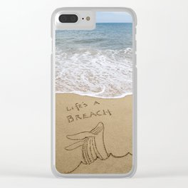 Life's a Breach Clear iPhone Case