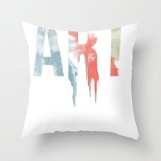 Art & Protest Throw Pillow