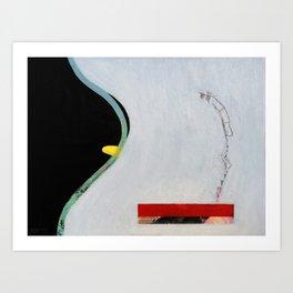 Eliminate Clutter (oil on canvas) Art Print