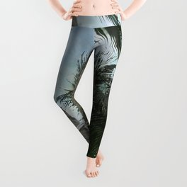 Alright Stop... Hammock Time! Tropical Vacation Leggings