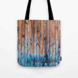Old Wood Door Tote Bag