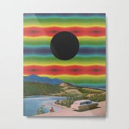 Pigments in the sky Metal Print