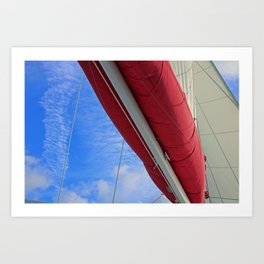 A Cayman Sail III Art Print