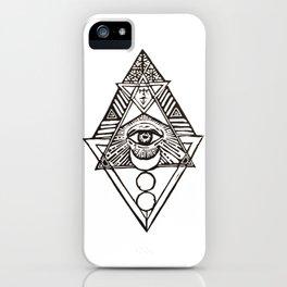 Occult Eye iPhone Case