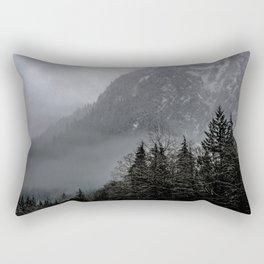 Misty peaks Rectangular Pillow