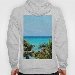 Wild Exotic Blue Paradise -Indian Ocean Seascape Hoody
