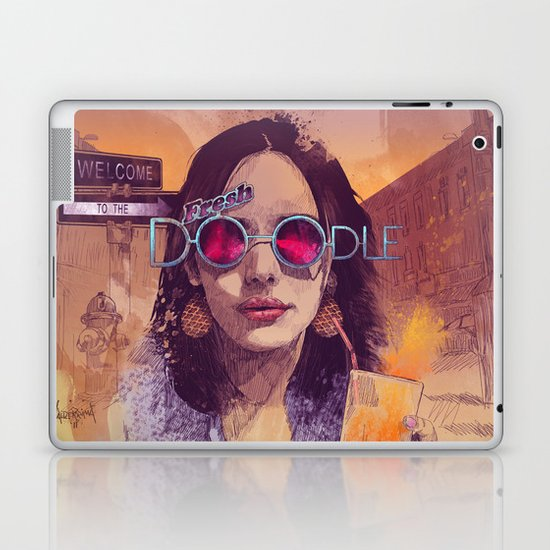 Welcome to the Fresh Doodle Laptop & iPad Skin