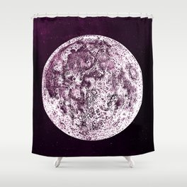 An Expired Planet Shower Curtain