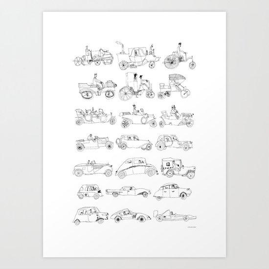 Car Poster Art Print