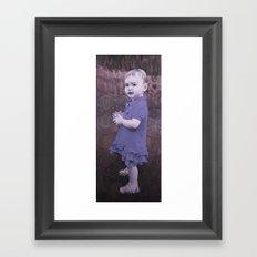 Little Eve (slate) Framed Art Print