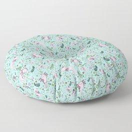 Cute Axolotls Floor Pillow
