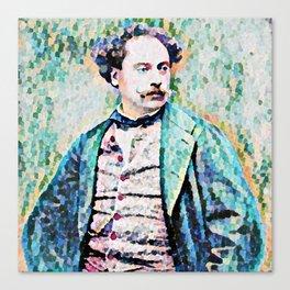Richard Georg Strauss (1864 – 1949) (digitized photograph) Canvas Print