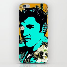 Flowers For The King of Rock and Roll iPhone Skin
