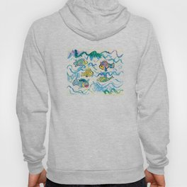 Funny fishes Hoody