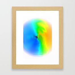 """""""Time Travel Dream"""" Digital Art Framed Art Print"""