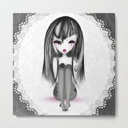 éMo Romantik Gothik 'Dentelle' Metal Print