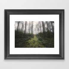 Unknown Road - landscape photography Framed Art Print