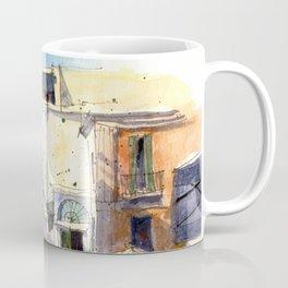 Strolling in Capri Coffee Mug