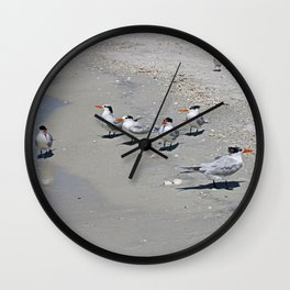 No Swimming Yet, Kids...Where IS Your Mother? Wall Clock