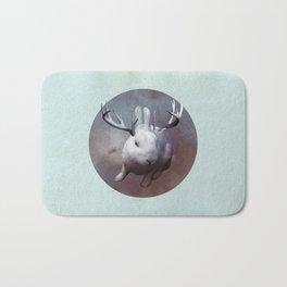 Evil Bunny Bath Mat