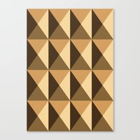 copper Canvas Prints featuring Copper by Fernanda Fattu