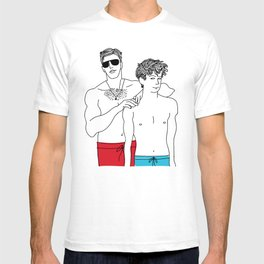 Call Me By Your Name: Oliver and Elio T-shirt