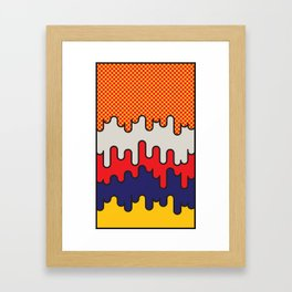 Lichtenstein Framed Art Print