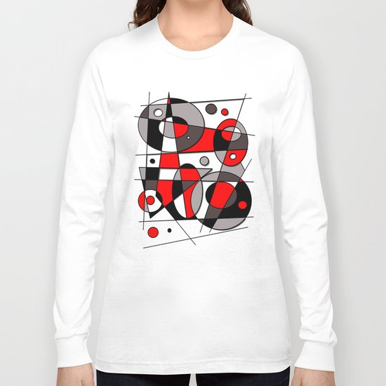 Abstract #44 Long Sleeve T-shirt