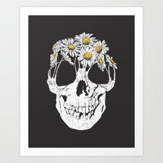 pushing daisies Art Print