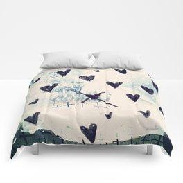 Black Hearts Comforters