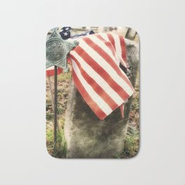 land of the free because of the brave Bath Mat