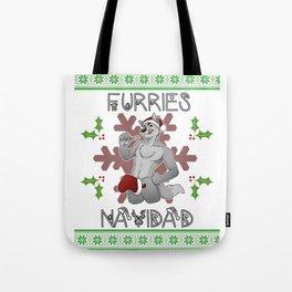 Furries Navidad Tote Bag