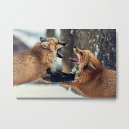 Ultimate Foxing Championship Metal Print