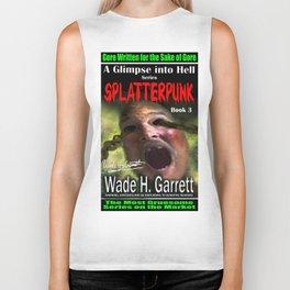 """""""Splatterpunk"""" book cover art with signature Biker Tank"""