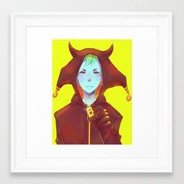 Demon Boy Framed Art Print