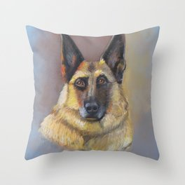 Every Dog Has Its Day Throw Pillow