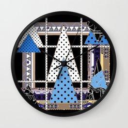 Midnight fantasy , abstraction Wall Clock