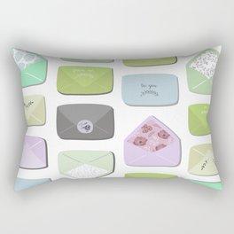 Love Letters Rectangular Pillow