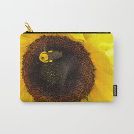 Bumble Bee on a Sunflower Carry-All Pouch