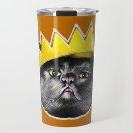 Black Cats Rule! Travel Mug