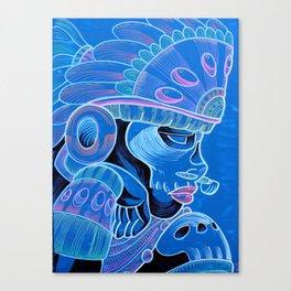 Coyolxauqui Canvas Print